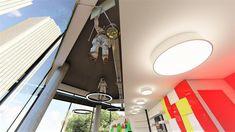 διακόσμηση  φροντιστηρίου    Εργαστήριο πειραμάτων Διακόσμηση Ceiling Lights, Lighting, Home Decor, Decoration Home, Light Fixtures, Room Decor, Ceiling Lamps, Lights, Interior Design