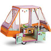 American Girl Adventure Pop-Up Camper
