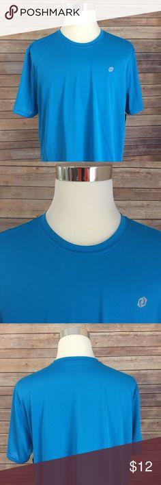 "SB Tech Turbo Bolt Performance T-Shirt SB Tech Performance T-Shirt ,Blue Short Sleeve Sz XXL 100% Polyester ""New With Tags"" SB Tech  Shirts Tees - Short Sleeve"