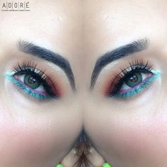 Thanks to @usthemakeupmaniac for wearing Adore Tri light Green by Trendy tri tone collection.  ======================  How to order our Coloured contact lenses:  www.adorelenses.com  ======================  Customer service:  Please fill in the form   https://adorelenses.com/en/index.php?controller=contact ======================  Adore Lenses are 3 months disposable.   With or without prescription available. From -16.00 to 0.00 and from 0.00 to +10.00