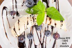 Not really a recipe – just a delicious dessert idea!