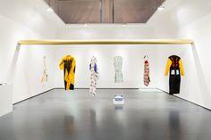 Workwear exhibition set design Triennale di Milano