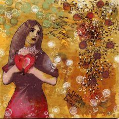lady w heart