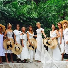 It was pure magic, our stunning elegant bride Mollie @mollie_ruprecht and her beautiful bridesmaids all ready to walk down the aisle and make this dream come true. #thebattwedding #stbarth