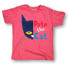 bb04e6fa Pete the Cat Officially Licensed Book Character Half Face Portrait Toddler  Tee, Toddler Boy's, Size: Pink