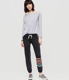 Image of Sundry Striped Sweatpants