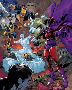 Magneto Vs X-Men