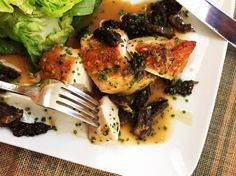 Pan-roasted chicken with pan sauce—like this one flavored with morel mushrooms and shallots and lemon—is the ultimate weeknight staple. It's inexpensive, delicious, and takes less than half an hour from start to finish. Throw a great simple mixed green salad on the side, and you've got yourself one of my all-time favorite meals.