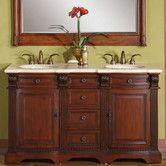 """Found it at Wayfair - Olivia 58"""" Double Sink Bathroom Vanity Set"""