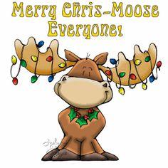moose - Christmas Moose