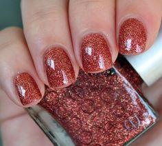 Burn the Evidence by Rescue Beauty Lounge #shimmer #nailart #nails #polish #mani - Share/explore more nail looks at bellashoot.com!