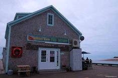Lobster Barn building on pier in Victoria by the Sea Popular PEI Road Trip stops to the beaches of West Point Lighthouse Inn, Best Lobster Roll, Historic Properties, Victoria, Little Island, Prince Edward Island, Green Gables, Grand Hotel, Canada Travel