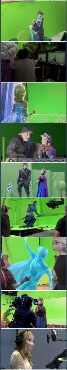 If Frozen were shot as a live-action film...