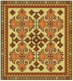 Gallery.ru / Фото #7 - Орнаменты для подушек - livadika