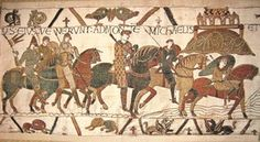 Wandteppich Bayeux Teppich Replik Mont St. Michel 8040