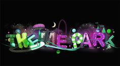 25 Awesome and Creative Typography Graphic Designs for your inspiration Creative Typography Design, 3d Typography, Creative Fonts, Font Styles, Microsoft Windows, Graphic Design Inspiration, Park, Freedom, Graphic Illustrations