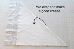 Turn one fat quarter into 5 yards - Stop staring and start sewing!