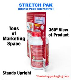 Side Profile View of Stretch Pak Packaging