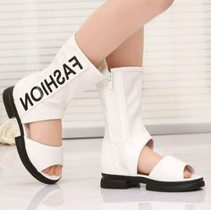 37.66$  Buy here - https://alitems.com/g/1e8d114494b01f4c715516525dc3e8/?i=5&ulp=https%3A%2F%2Fwww.aliexpress.com%2Fitem%2FFashion-child-sandals-2016-spring-and-summer-open-toe-high-boots-cool-boots-female-child-shoes%2F32656424481.html - Fashion child sandals 2016 spring and summer open toe high boots cool boots female child shoes open toe 37.66$