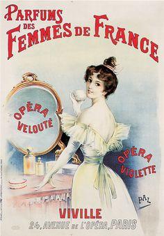 Trade Card - Propaganda bem antiga de perfume