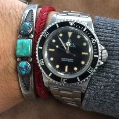 Vintage Rolex Submariner 5513 by Man of the World