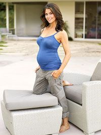 You can be Fit, Fabulous, and Pregnant: Samantha Harris's Secrets to a Fit Pregnancy. Pinning this for someday...