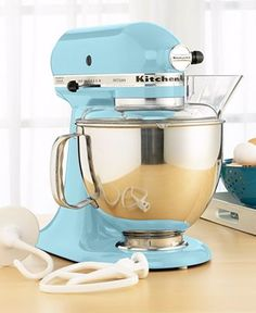 kitchenaid stand mixer - ice color