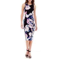 jcpenney.com   I 'Heart' Ronson® Cutout-Waist Print Dress