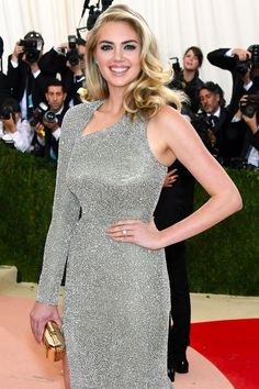 Pin for Later: Kate Upton Is Engaged! See Her Stunning Ring at the Met Gala