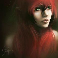 Elf lady. by Safiru on DeviantArt