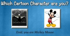 Check my results of Which Cartoon Character Are You Most Like? Facebook Fun App by clicking Visit Site button