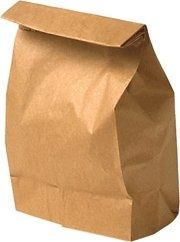 Bringing your lunch to school in a brown paper bag...with it taped at the top and my name written on it :)