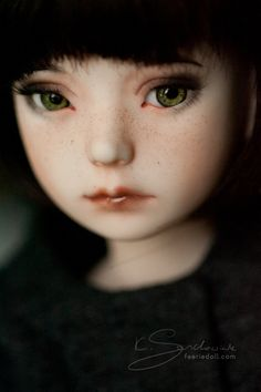 green eyes by koroa on Flickr.Happy Faceup Fridays! [Dollmore Narsha Zihu]