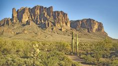 Apache Junction AZ...one of the first placed we went with our RV...beautiful landscape and a little old time gold mining town!