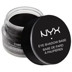 Nyx Black Eye Shadow Base ($7) ❤ liked on Polyvore featuring beauty products, makeup, eye makeup, eyeshadow, eyes, fillers, black, nyx eyeshadow, primer eyeshadow and nyx eye shadow