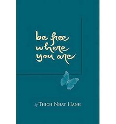 Containing a new Forword by Sister Chan Khong, this beautiful, expanded trade edition of Hahn's popular book shows how people can cultivate freedom no matter where they are.