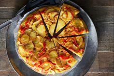 Tortilla met paprika