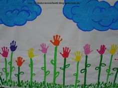 EDUCACIÓ INFANTIL : MURAL DE PRIMAVERA Spanish Activities, Spring Activities, Kindergarten, Spring Crafts, Holidays And Events, Preschool, Arts And Crafts, Classroom, Kids