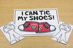 I wanted to share this freebie!!!!  Hopefully every kiddo in your class had a New Year's resolution to learn how to tie their shoes? HA!  You can grab this freebie poster **HERE** and the freebie certifications **HERE**
