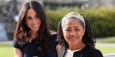 """MEGHAN Markle has said she feels """"wonderful"""" as she arrived with her mum Doria Ragland at the plush Cliveden Hotel in Berkshire to enjoy her last night as a single woman before she marries Prince Harry tomorrow. Meghan Markle Mom, Royal Wedding Prince Harry, Prince Harry Et Meghan, Princess Meghan, Royal Princess, National Daughters Day, Doria Ragland, Royal Family News, Prinz Harry"""