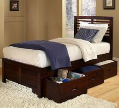 children's beds with built-in drawers   New Trends in Children's Beds