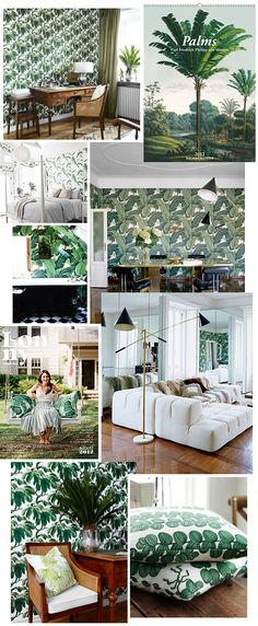 Trendenser - djungle pattern inspiration
