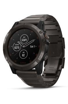 6f86e84c4a05ac Garmin Fenix 5X Plus Sapphire Premium Multisport Gps Watch, 51Mm