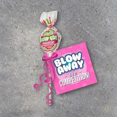 Sports Good Luck Gift Blow Away The Competition Printable image 1 Cheer Sister Gifts, Cheer Team Gifts, Dance Team Gifts, Little Sister Gifts, Gymnastics Gifts, Cheerleading Gifts, Dance Good Luck Gifts, Girls Basketball, Girls Softball