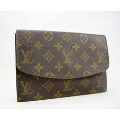 Louis Vuitton Vintage Monogram Pochette Rabat Clutch