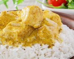 Curry de poulet très facile