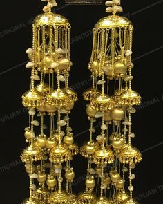 """Punjabi Traditional Golden Long Kalire"""" Item Code - PTJ For price please inbox with Image or WhatsApp at this number Pakistani Wedding Outfits, Bridal Outfits, Bridal Bangles, Wedding Jewelry, Bridal Looks, Bridal Style, Wedding Chura, Bridal Chuda, Indian Wedding Couple Photography"""