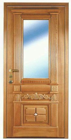 Front Door Design Wood, Door Gate Design, Wooden Door Design, Wood Front Doors, Interior Window Trim, Door Design Interior, Custom Wood Doors, Wooden Doors, Latest Door Designs