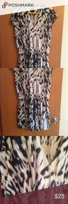 Kenneth Cole Romper Medium Super cool Kenneth Cole romper.  Worn twice, excellent new condition. Kenneth Cole Other