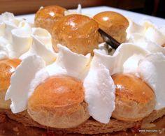 Saint-honoré - (le meilleur pâtissier ) la recette est magnifiquement expliquée par Mercotte.... une fois de plus !
